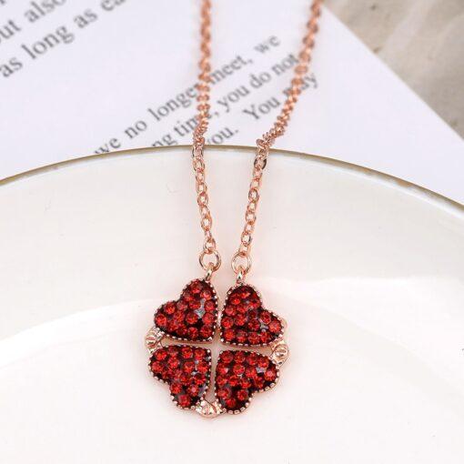 Four Leaf Clover Necklace, Four Leaf Clover Necklace