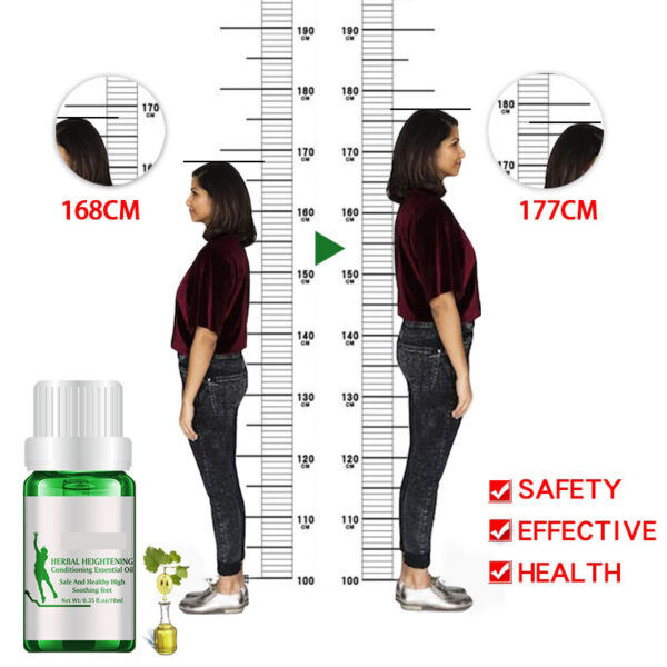 New Famous Brand Height Increasing Oil Medicine Body Grow Taller Essential Oil Foot Health Care Products 1 1