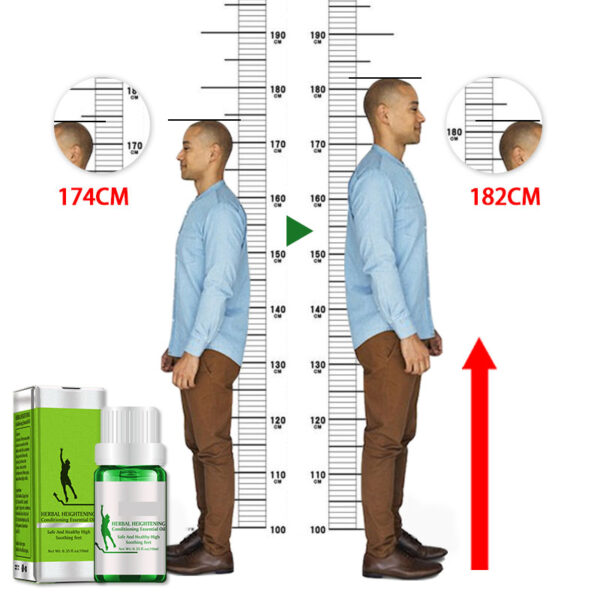 New Famous Brand Height Increasing Oil Medicine Body Grow Taller Essential Oil Foot Health Care Products 6