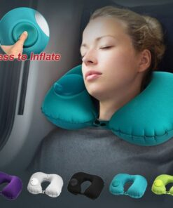 U Shape Inflatable Travel Pillow