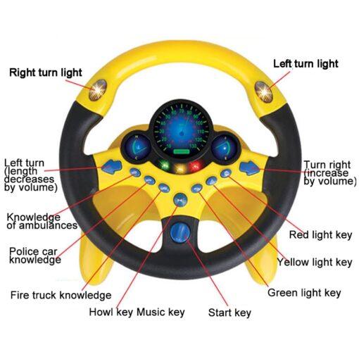 Steering Wheel Toy, Steering Wheel Toy