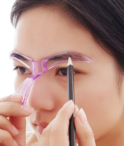 Eyebrow Shaping Stencil, Easy Eyebrow Shaping Stencil