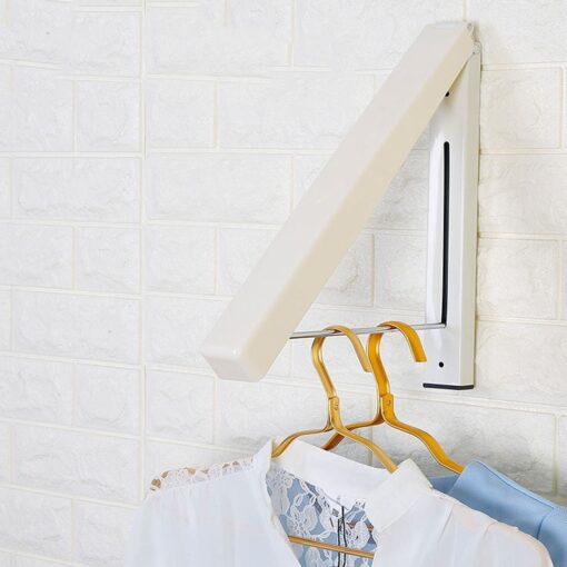 Folding Retractable Clothes Rack, Folding Retractable Clothes Rack
