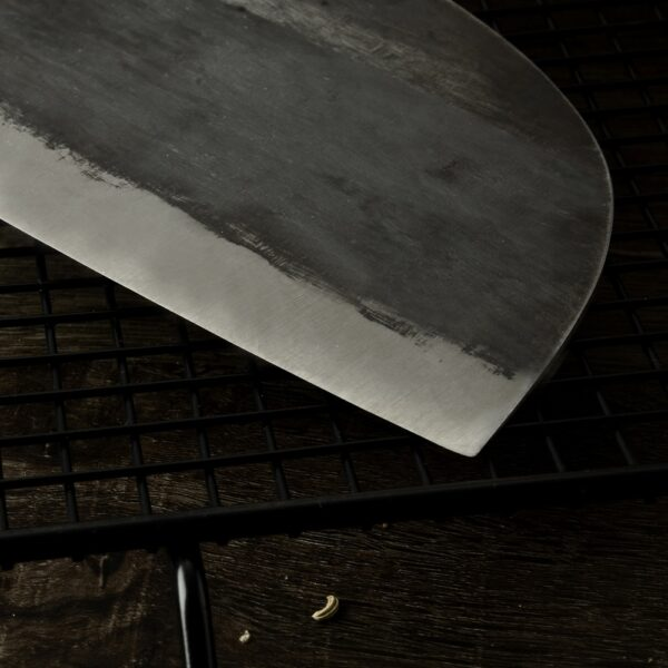 XYj Handmade Forged Chinese Butcher Kitchen Knife High Carbon Steel Chef Knives Bone Chopper Full Tang 4