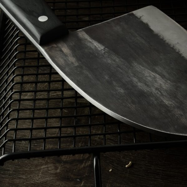 XYj Handmade Forged Chinese Butcher Kitchen Knife High Carbon Steel Chef Knives Bone Chopper Full Tang 5
