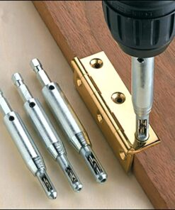 Positioning Drill Bit, Self Centering Positioning Drill Bit (4 Pcs)