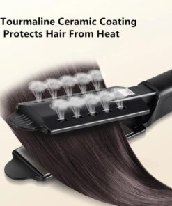 Ceramic Tourmaline Ionic Flat Iron Hair Straightener, Ceramic Tourmaline Ionic Flat Iron Hair Straightener