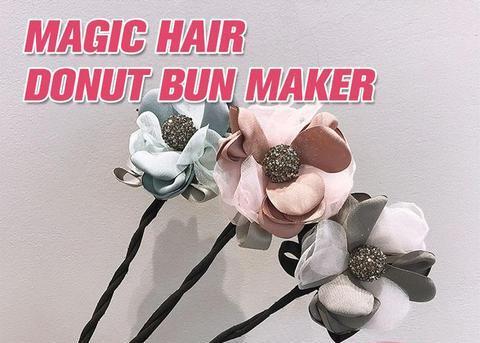 Magic Hair Bun Maker, Magic Hair Bun Maker