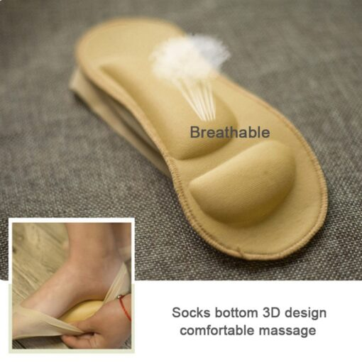 Embossed Cushion Foot Socks, Embossed Cushion Foot Socks