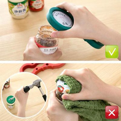 Jar Opener, Multi Purpose Jar Opener