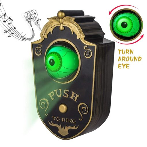 Halloween Decoration-Spooky sound with rolling eye, Halloween Decoration-Spooky sound with rolling eye!