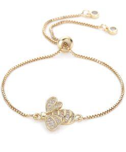 Crystal Bee Bracelet