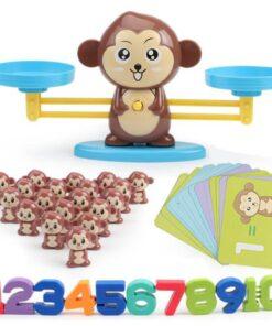 Monkey Mathematical Balance Toy