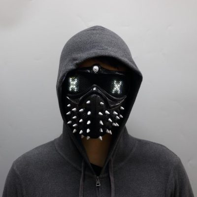 Wrench Inspired LED Mask, Wrench Inspired LED Mask