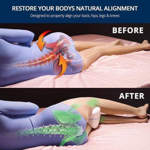 , Orthopedic Knee Pillow With Memory Foam