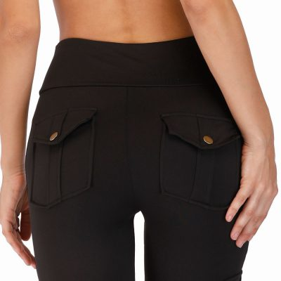 Pockets Stretchy Soft Leggings, Pockets Stretchy Soft Leggings