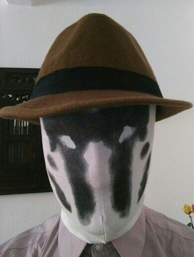 Watchman Rorschach Headgear Mask, Watchman Rorschach Headgear Mask