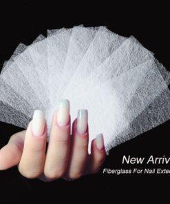 Nail Extension Silk Fiberglass, Nail Extension Silk Fiberglass (10Pcs)