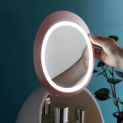 LED Mirror Makeup Cosmetic Organizer Box, LED Mirror Makeup Cosmetic Organizer Box