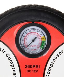 Portable Electric Tire Pump, 260PSI Portable Electric Tire Pump