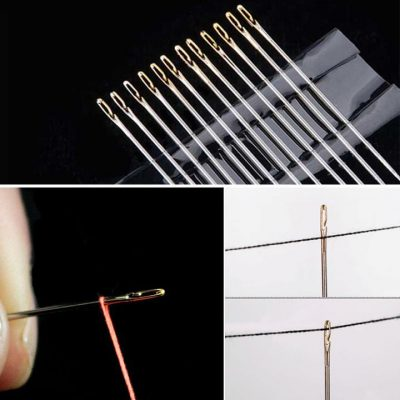 Self-threading Needles, Self-threading Needles