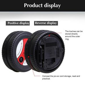 Portable Electric Tire Pump, 260PSI Portable Electric Tire Pump