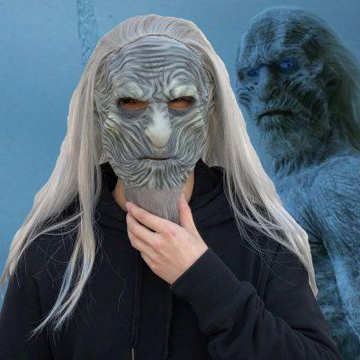 White Walkers Halloween Mask, White Walkers Halloween Mask