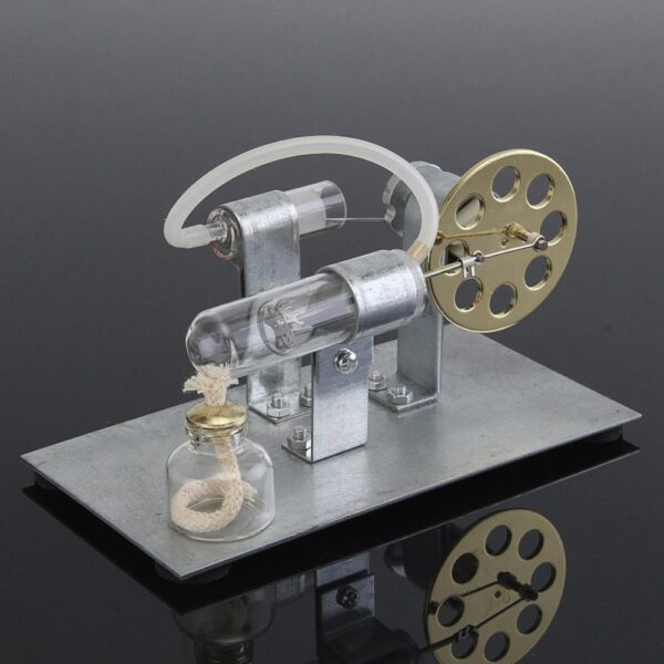 Hot Air Stirling Engine Model Electric Generator Motor Physics Steam Power Toy Lab Teaching Equipment 5