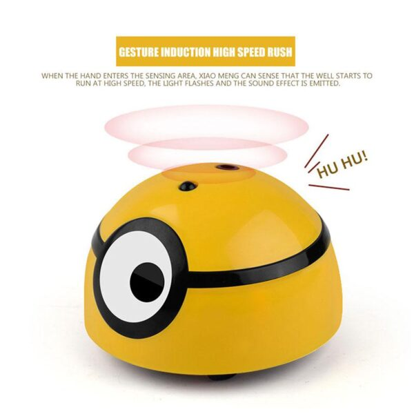 Intelligent Induction Run Away Small Elf Funny Gesture Reaction Flee Toy with Cute Sound Funny Gifts 4
