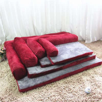 Luxury Removable Soft Lounge Orthopedic Dog Bed, Luxury Removable Soft Lounge Orthopedic Dog Bed