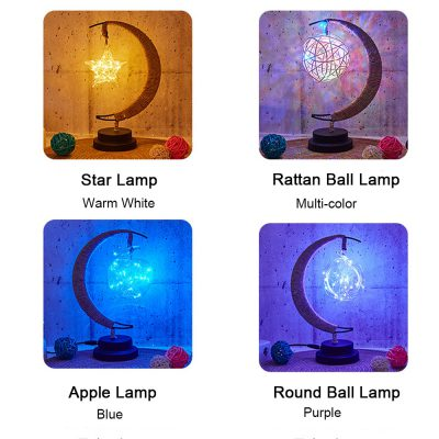 Led Star Moon Lamp, Led Star Moon Lamp