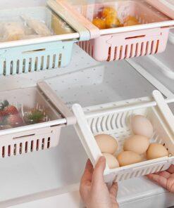 Refrigerator Partition Storage Rack
