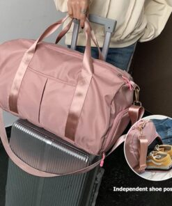 , Travel Duffel Bag with Dry Wet Pocket