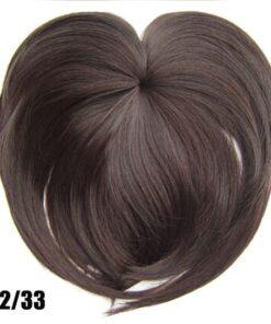 Silky Clip-On Hair Topper, Silky Clip-On Hair Topper