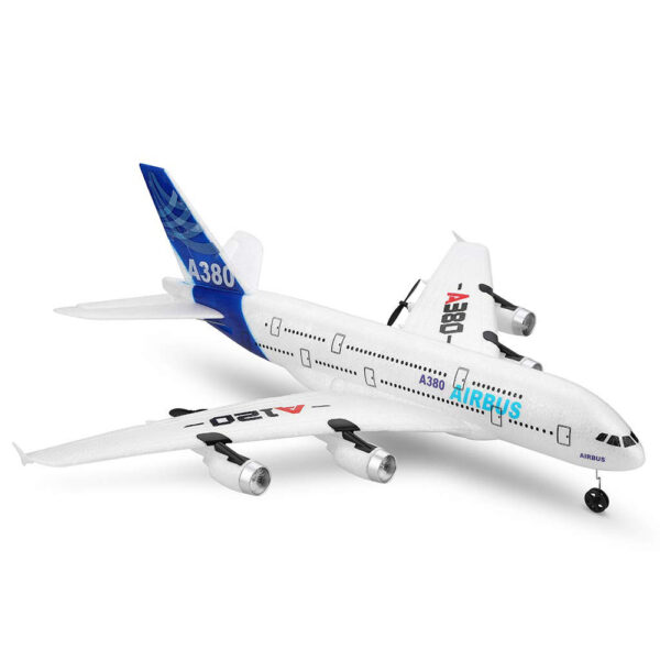 Wltoys XK A120 Airbus A380 Model Remote Control Plane 2 4G 3CH EPP RC Airplane Fixed 1 1