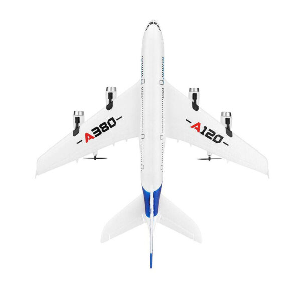 Wltoys XK A120 Airbus A380 Model Remote Control Plane 2 4G 3CH EPP RC Airplane Fixed 4 1