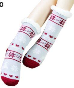 Extra-warm Fleece Indoor Socks, Extra-warm Fleece Indoor Socks