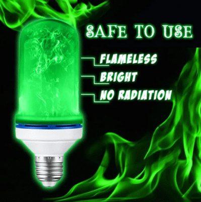 Halloween LED Dynamic Flame Lamp, Halloween LED Dynamic Flame Lamp
