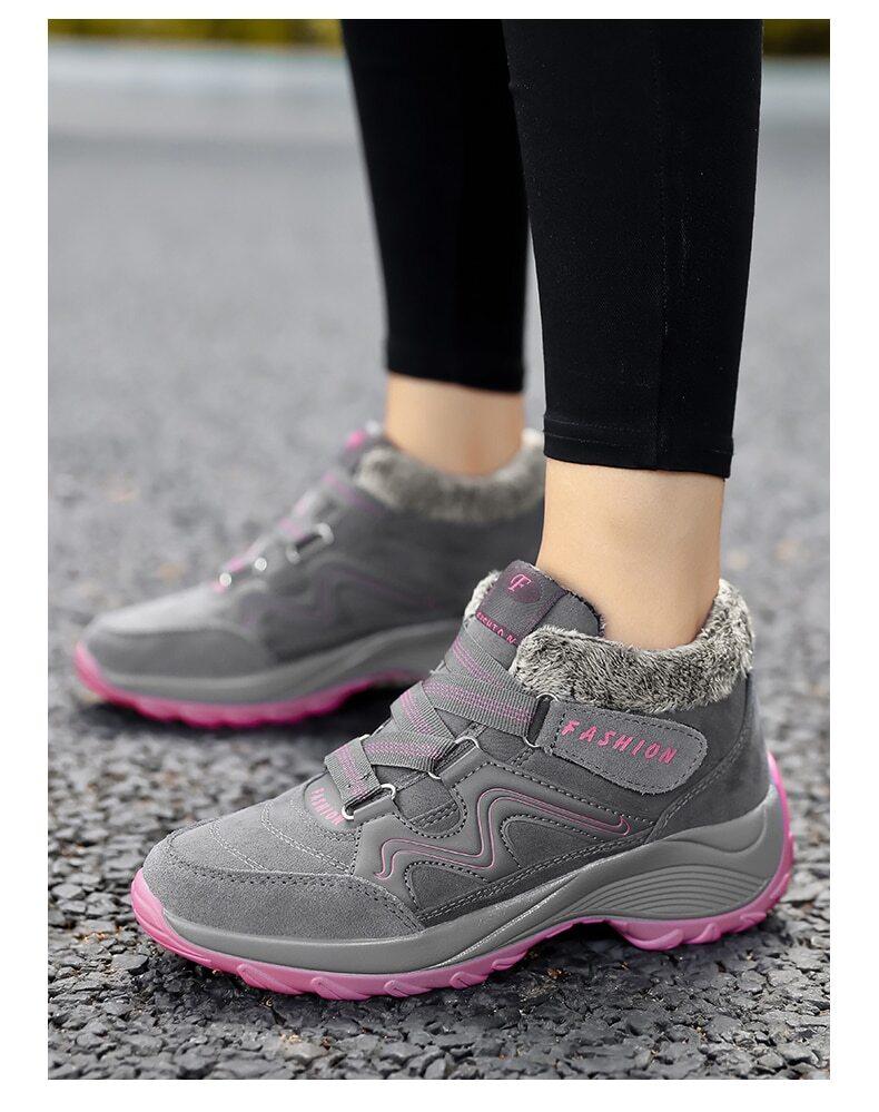 , Women Winter Non-Slip Snowshoes
