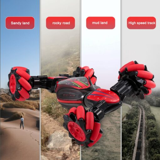 , Double Side RC Stunt Car