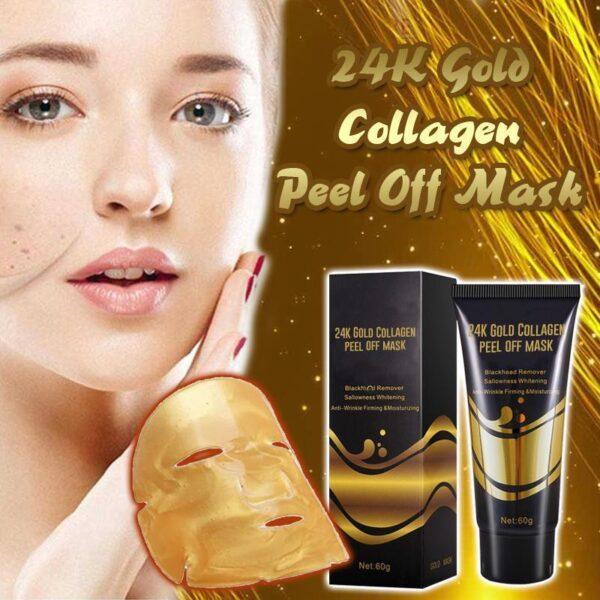 24K Gold Collagen peel off mask