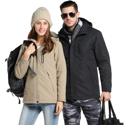 Winter Thick USB Heating Cotton Waterproof Jacket, Winter Thick USB Heating Cotton Waterproof Jacket