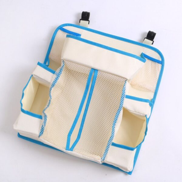 Baby Storage Holders Organizer Diaper Organizer Diaper Caddy Wipes Storage Creams Lotions Special Support for Crib 2