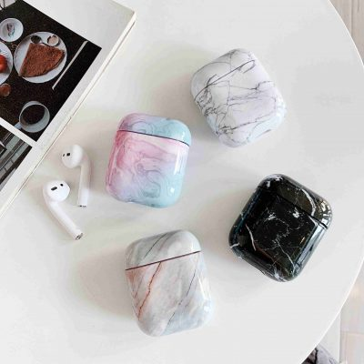 Airpods Case Marble Cover, Airpods Case Marble Cover