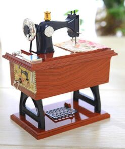 Sewing Machine Music Box, Mini Sewing Machine Music Box