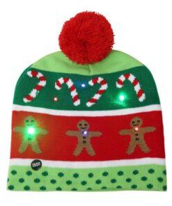 LED Christmas Beanie, LED Christmas Beanie