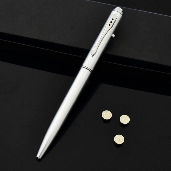 Creative Magic LED UV Light Ballpoint Pen with Invisible Ink Secret Spy Pen Novelty Item For 3