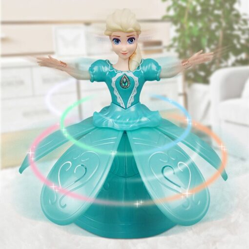 Dancing Princess Music Doll, Remote Control Girl Dancing Princess Music Doll