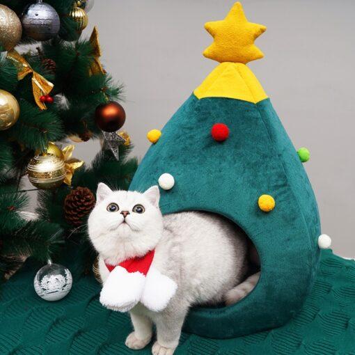 Christmas Cat Nest, Christmas Cat Nest