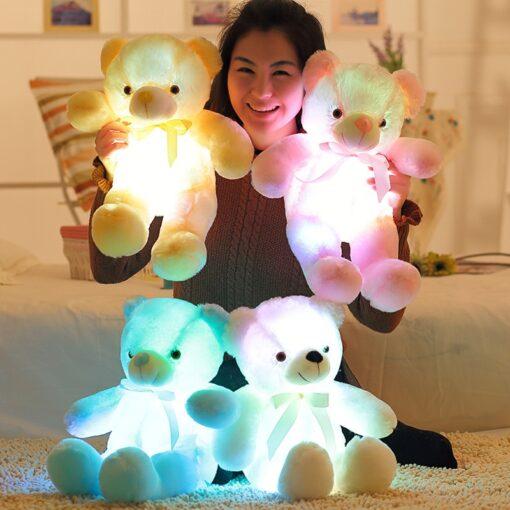 Glowing Teddy Bear Stuffed With Plush, Glowing Teddy Bear Stuffed With Plush